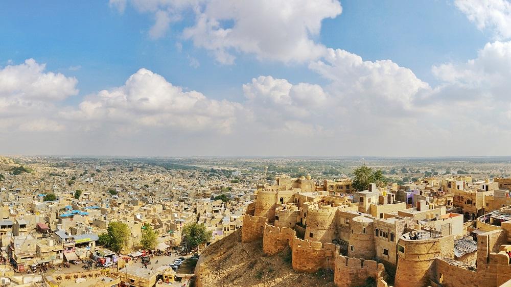 City view of Jaisalmer
