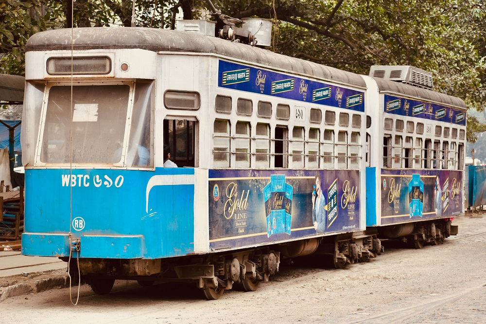 Kolkata heritage trams