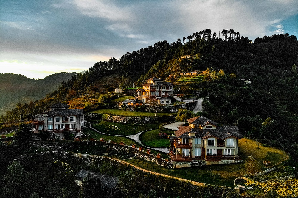 Beautiful Bungalows of Mussoorie